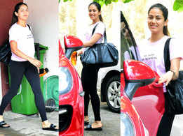 Mira Rajput makes a statement with her gym tee