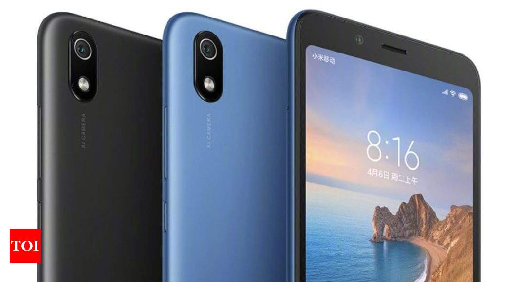 redmi 7a: Xiaomi Redmi 7A may launch in India next month - Times of