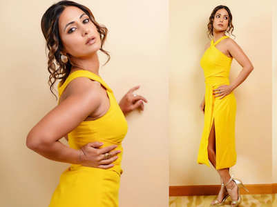 Hina Khan looks like a ray of sunshine