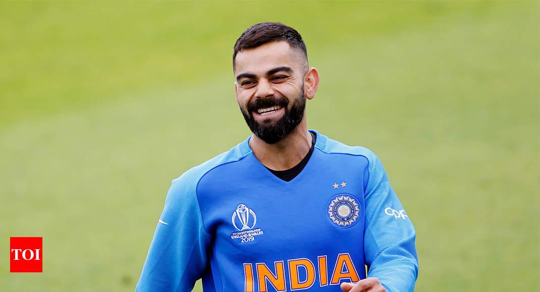 Skipper Virat Kohli Goes The Dhoni Way With New Haircut Cricket