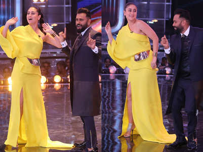 Kareena recreates iconic dance number