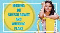 Mohena Singh blushes as she talks about fiance Suyesh Rawat & wedding plans |Yeh Rishta Kya Kehlata Hai|