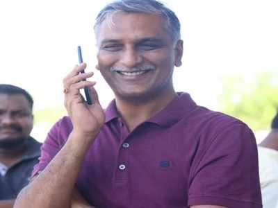 Former irrigation minister Harish Rao gets emotional on eve