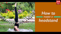 How to master a headstand
