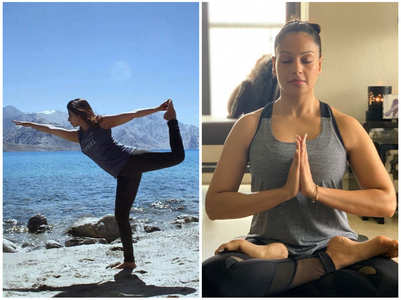 Yoga Day: B-town celebs share special posts