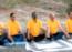 Senior citizens celebrate International Day of Yoga at Himayat Baugh