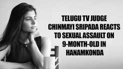 Sa Re Ga Ma Pa Telugu judge Chinmayi Sripada reacts to sexual assault on 9-month-old in Hanamkonda; urges public to 'identify and kick out predators' at home first