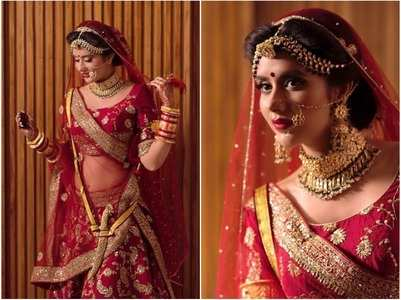 PICS: Charu Asopa looks ethereal as a bride