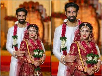 Unseen pics from Rajeev, Charu's wedding