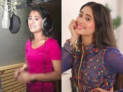 Shivangi turns singer, croons a song