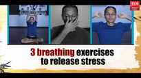 Three breathing exercises to relieve stress