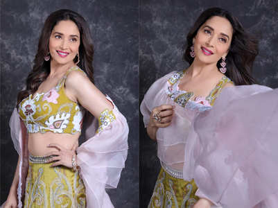 Madhuri Dixit Nene is a style queen at 52