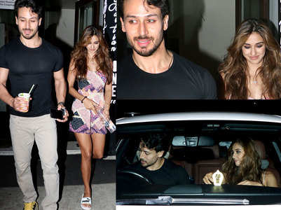 Disha-Tiger spotted on a dinner date
