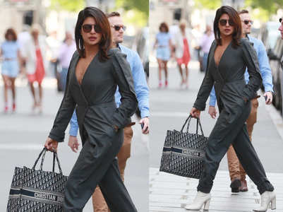 Can you guess the price of Priyanka Chopra's bag?