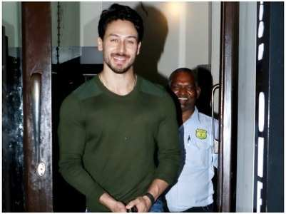 Tiger Shroff starts preparing for 'Baaghi 3'