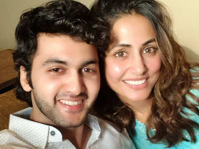Hina bonds with former Yeh Rishta co-star
