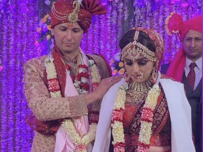 Aarti Chabria gets married to Visharad