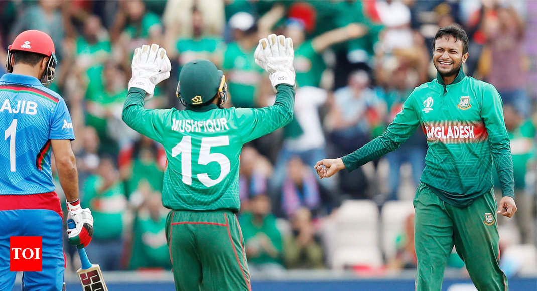 Bangladesh vs Afghanistan, ICC World Cup: Sensational Shakib Al Hasan keeps Bangladesh in semifinal contention