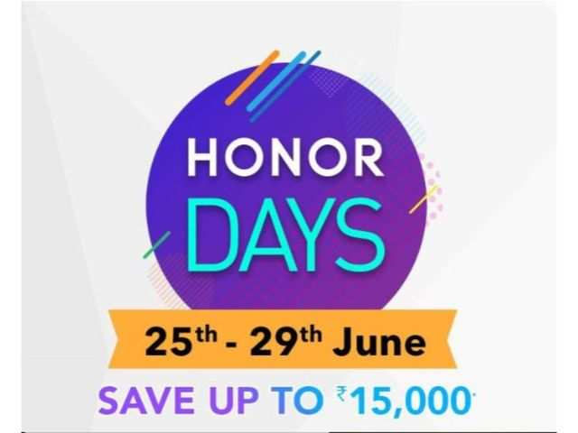 Honor Days on Amazon: Get up to Rs 15,000 discount on Honor 8C, Honor 8X, Honor 9N, Honor 10 Lite, Honor Play and other phones