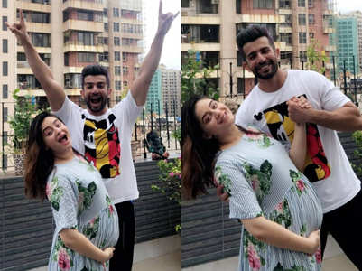 Parents-to-be Mahhi-Jay get goofy, see pics