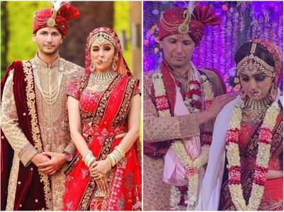 PICS: Aarti ties the knot with Visharad