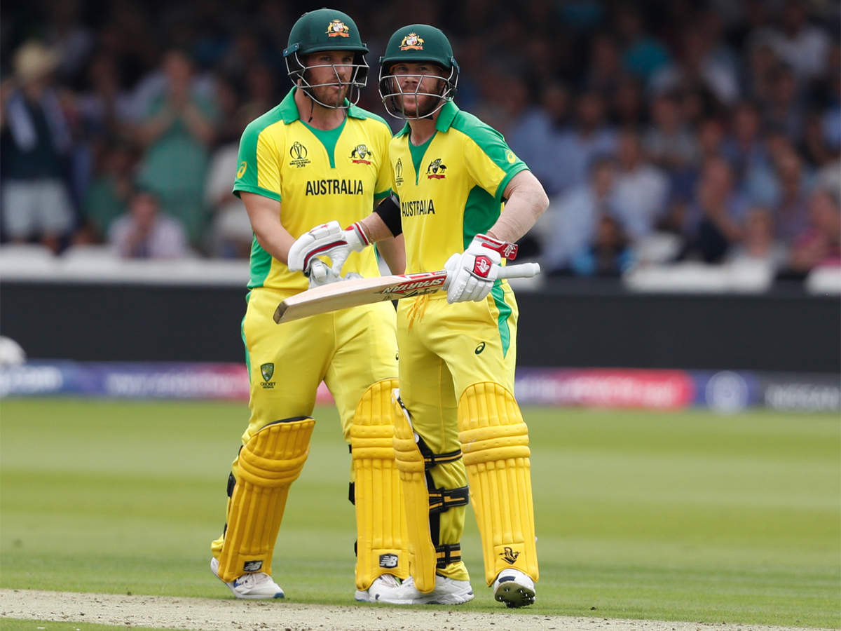 Skipper Aaron Finch backs watchful David Warner | Cricket News - Times of India