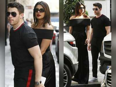 Priyanka and Nick's Paris diaries continues