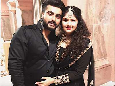 Anshula's sweet note to wish her brother Arjun