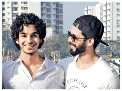 Ishaan praises Shahid & his 'Kabir Singh' film