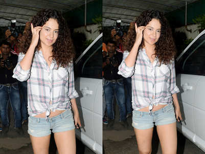 Kangana's perfect summer shorts!