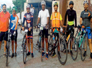A cycling event to promote fitness in the city