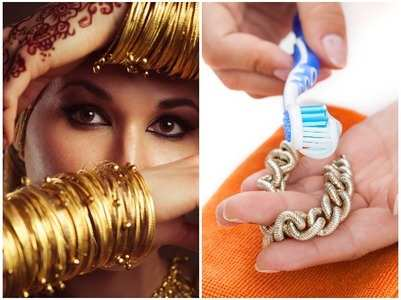 How to clean jewellery in the rainy season