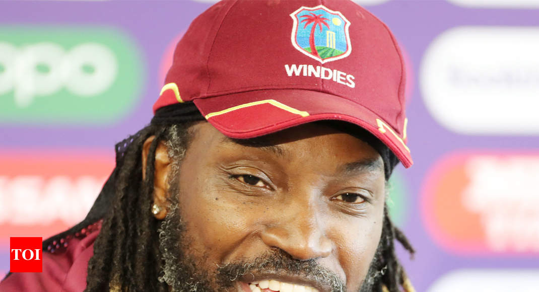 Chris Gayle plans retirement after home series against India in August - Times of India