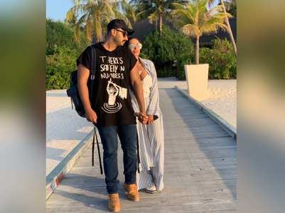 Malaika shares an adorable picture with Arjun