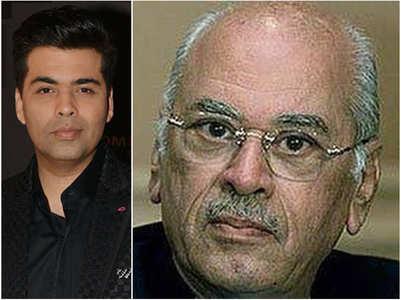 KJo pens a heartfelt note for dad Yash Johar