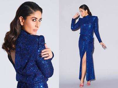 Photo: Kareena Kapoor Khan shimmers in blue