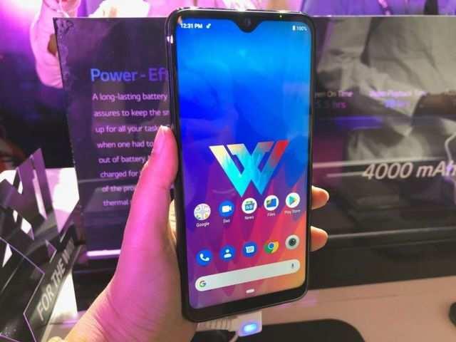 LG W30 first impressions