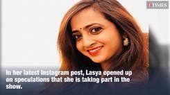 Bigg Boss Telugu 3: Lasya Manjunath opens up on taking part in the show