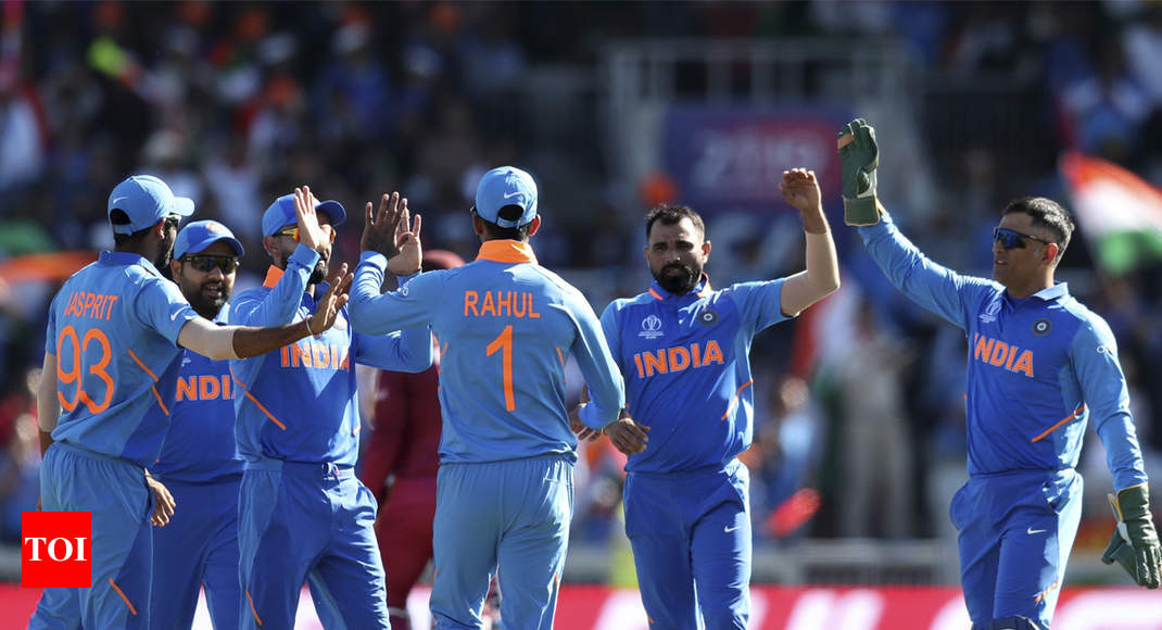 India vs West Indies Highlights, World Cup 2019: India ...
