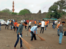 Students in the city take up cleanliness drive at Devgiri Fort