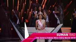 Suman Rao fbb Colors Femina Miss India World 2019: Crowning Moment
