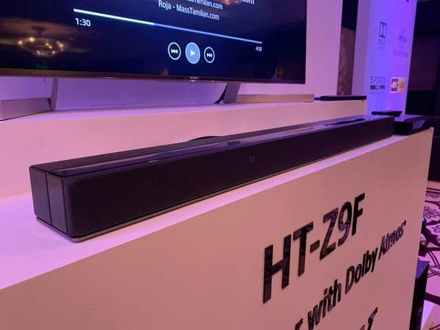 Sony HT-Z9F soundbar first impressions