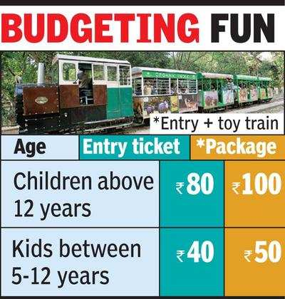 Lucknow zoo tickets to cost you 30% more | Lucknow News