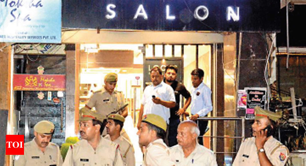 Noida cops under scanner for letting spas go unchecked for Spa bhopal uniform