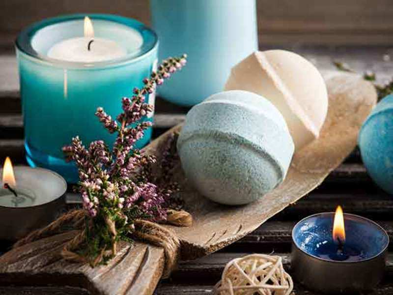 Have you tried a bath bomb, yet? - Times of India