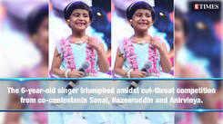 Sa Re Ga Ma Pa Li'l Champs Grand Finale: 6-year old Sai Veda Vagdevi bags the trophy