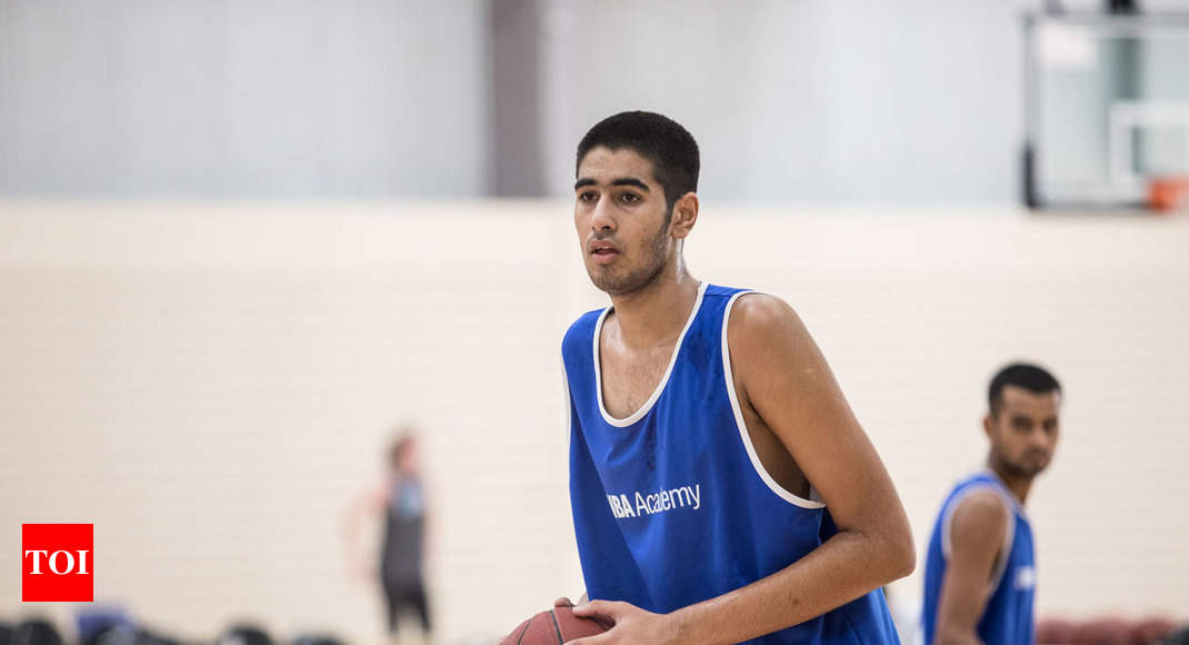 Jagshaanbir Singh first from NBA India Academy to get scholarship in