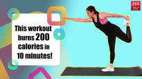 Video: Burn 200 calories in just 10 minutes with this super simple workout