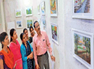 An exhibition on human-nature connect held in Kolhapur