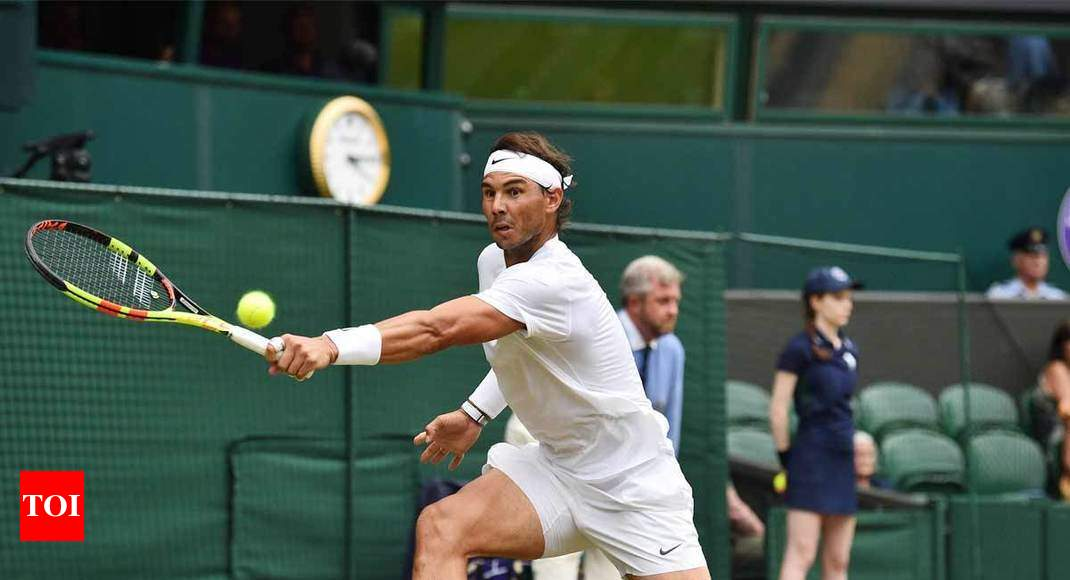 Heavier Balls To Blame For Slower Game At Wimbledon Says Nadal